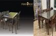 Tổng hợp những mẫu bàn ghế ăn gỗ óc chó thiết kế hiện đại