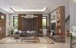 Không gian nội thất tự nhiên đẹp tuyệt vời từ gỗ óc chó